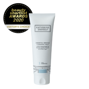 Essential Miracle Cleansing Jelly by Katherine Daniels - A Multi-Textured Make-Up Remover and Face Cleanser for All Skin Type